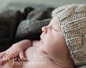 baby hat KNITTING PATTERNS - baby boy hat - Little Lamb
