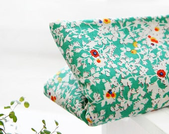 Nancy Floral Green ASSA Cotton, U7160