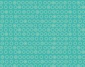 Crazy Circles in Teal from Boy Crazy from Riley Blake Fabrics by the Half Yard