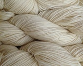 Natural White Worsted Weight Merino Wool Yarn Natural Un-Dyed