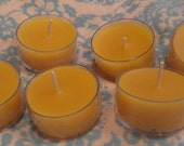 Pure Beeswax Tealight