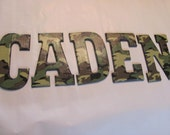 Army/camo letters Reserved for CHASE