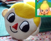 Custom Animal Crossing Villager Avatar Mayor Pouch Portrait Made To Order