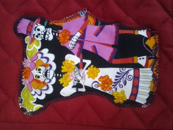 items similar to day of the dead potholders your