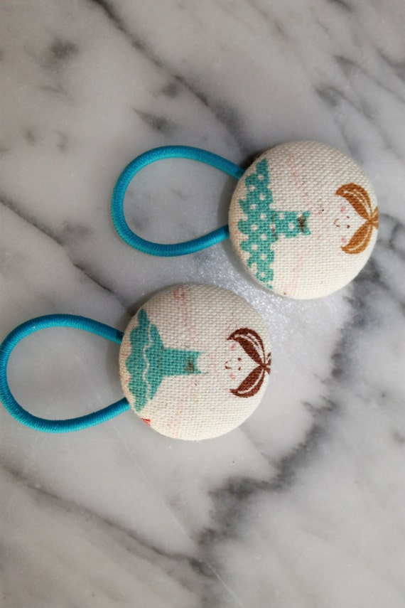 Brunette Twirling Ballerinas in pony tail holders make adorable party favors, gifts, everyday hair accessories