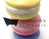 Macaron soaps Handcrafted
