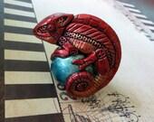 Clockwork Chameleon (Red Sun color)