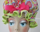 "Shower Cap Waterproof Washable ""Kaleidoscope"" Shower Cap"