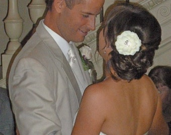 BRIDAL HAIR PIECE --- Bridal Headpiece - Bridal Hair piece - Bridal Hair Clip - Wedding headpiece -  Bridal Hairpiece - Head Piece