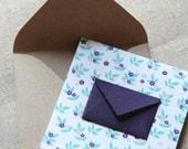 Tiny Envelope Gift Enclosure Cards - Lavender Field