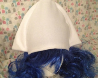 Squid Girl Inspired Fleece Hat Handmade (hat only)