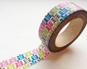 On Sale - Washi Tape - Colorful Leaves