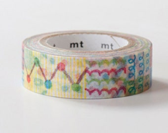 MT ex 2013 Autumn - Japanese Washi Masking Tape / Colorful Crayon (Use to be limited edition)