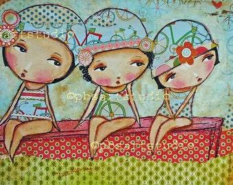 Boy watchers-- Canvas Prints