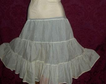 VIntage 50s Petticoat Slip