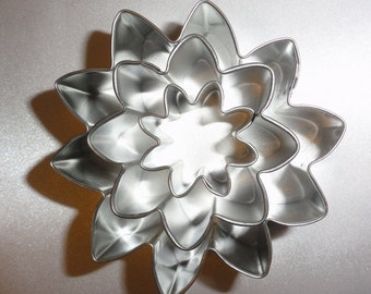 Sun Flower Sunflower Cookie Cutter 3 piece set Hippy Mod sugar cookie recipe