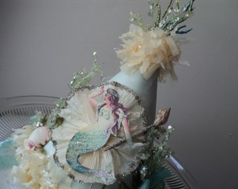 Mermaid Fantasy Party Hat