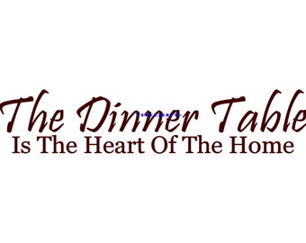 Popular Items For Dining Room Decal On Etsy