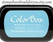 Dye Ink: ColorBox  Archival Full Size mermaid color