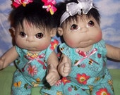 "Soft Sculptured Baby Dolls 19"" RESERVED for Krista"