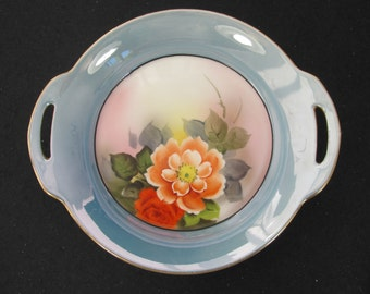 Vintage Made in Japan Hand Painted Serving Dish from Noritake 1930s