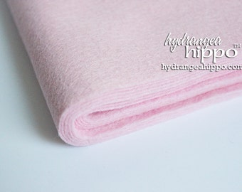 10 Sheets - BABY PINK- Wool Blend Felt - 12 x 18 inch sheets