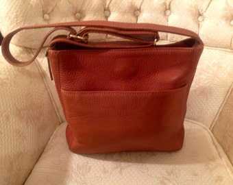Vintage Coach Sonoma Shoulderbag British Tan Preppy Traditional Stylish Fashionable /Rare Back-To-School