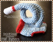 Crochet Sock Monkey Diaper Cover Pattern - Curly Tail - 3 Sizes (Newborn 3-6 & 6-12 Mo) - SOCK MONKEY - pdf 702