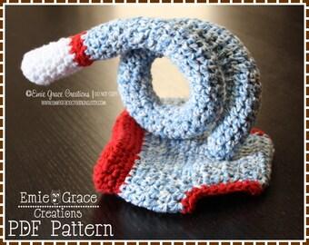 Crochet Sock Monkey Diaper Cover Pattern - Curly Tail - 3 Sizes (Newborn 3-6 & 6-12 Mo) - SOCK MONKEY - pdf 702