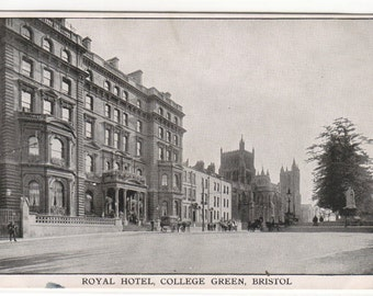 Royal Hotel College Green Bristol United Kingdom postcard
