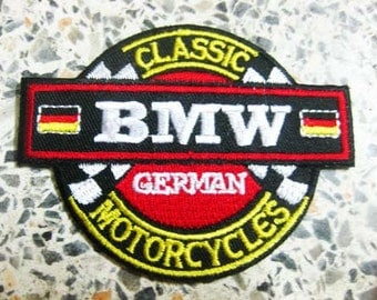 BMW MOTOR PATCH Badge a