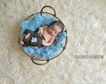 Nest Fluff Basket Filler Newborn Baby Photo Prop Organic Photography Prop Basket Stuffer