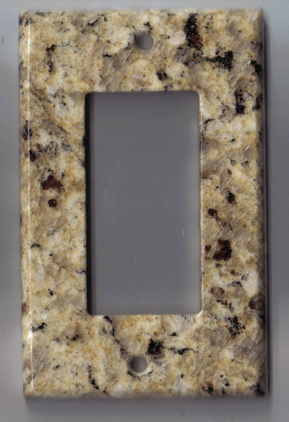 Granite Switchplate Switch Plate Stone Light Wall Cover Rocker