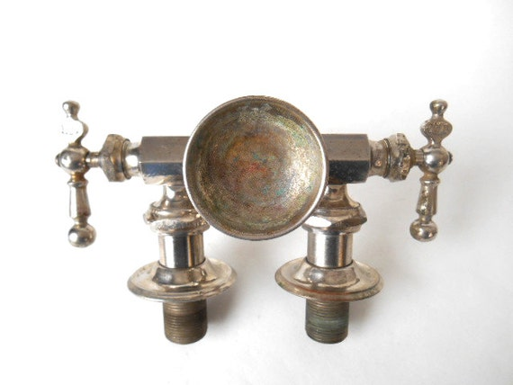 Old Vintage Claw Foot Tub Sink Faucet By By Albrechtsantiques