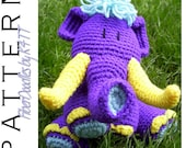 INSTANT DOWNLOAD : KISS Series - Woolly Mammoth Crochet Pattern