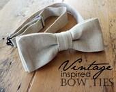 f l a x  LINEN bow.tie