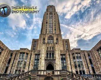 Higher Learning, Cathedral of Learning  Fine Art  Photographic Print