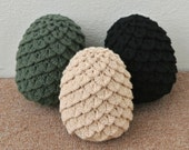 Game of Thrones Inspired Dragon Egg Plush - Pattern Only