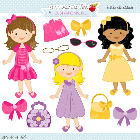 Easter Dress Clipart