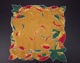 Vintage Handkerchief Leaves (vh30)