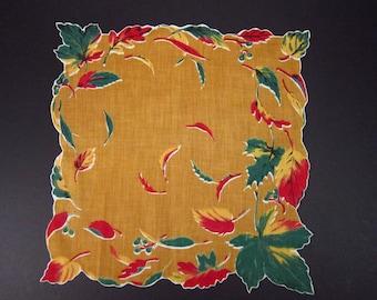 Vintage Handkerchief Leaves (vh30)