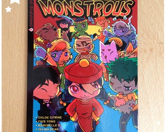 BOOK - Drop Dead Monstrous - UK Manga Anthology