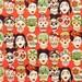 NEW Frida Gotas de Amor- Alexander Henry Scenes 1 Yard Fabric