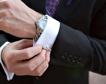 Guitar Cuff Links - Music Theme Wedding - Guitar Cufflinks - Cool Mens Gifts - Mens Cuff links