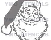 Santa Claus Stencil - 12x12