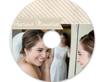 Cd/DVD Label Photoshop template - 0877