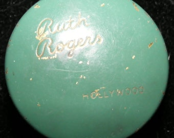 1930s Ruth Rogers Hollywood rouge pot