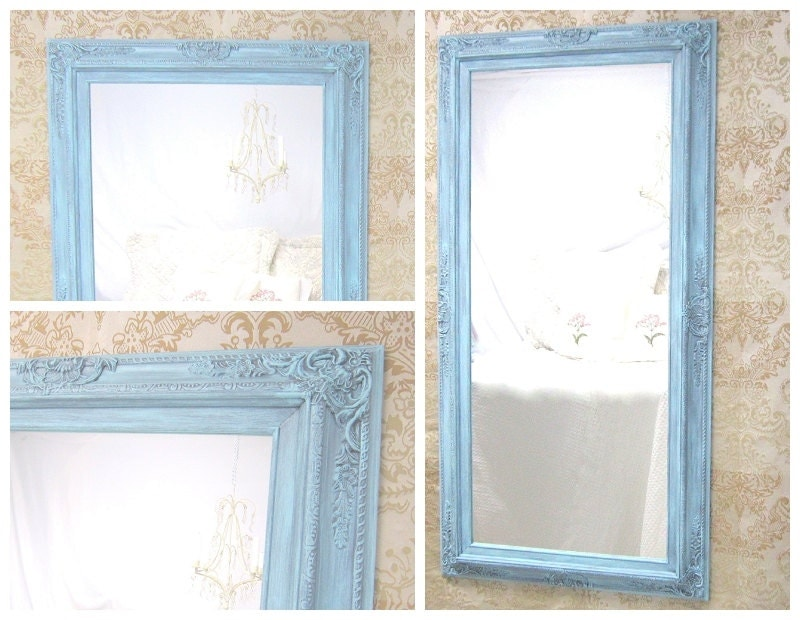 Decorative full length mirrors for sale 56x 32 by for Long skinny decorative mirrors