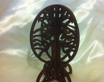 3D Standing Tree of Life - Red Oak