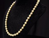 Pearl Necklace with coppe...